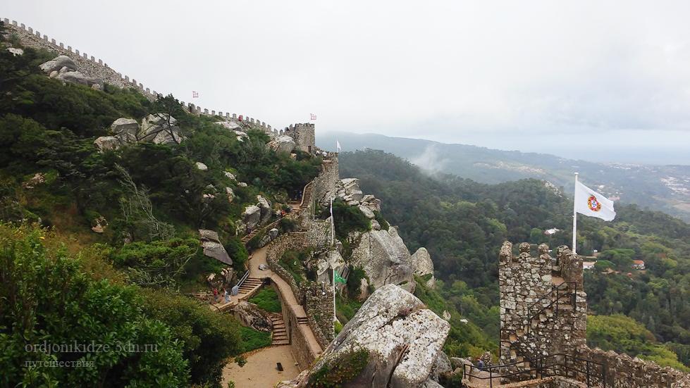 Отзыв сайта Орджоникидзе о крепости мавров в Синтре Португалия