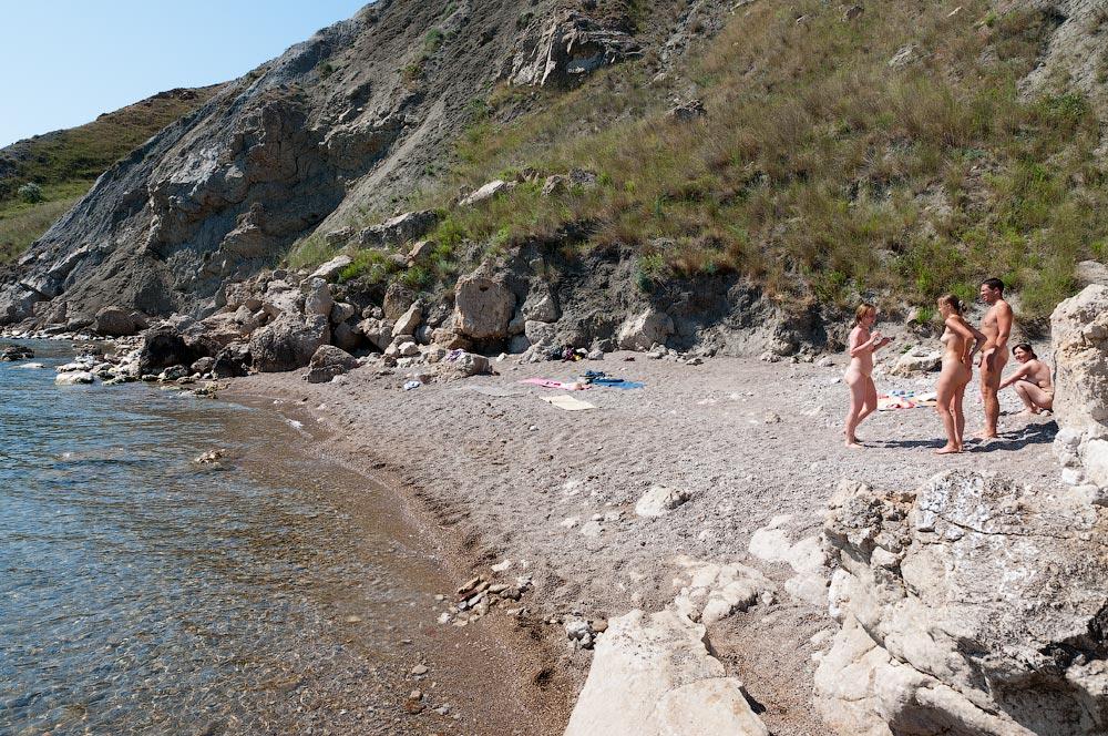 Пляжи Орджоникидзе, Крым 4
