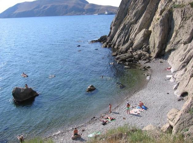 Крым орджоникидзе фото пляжей и набережной
