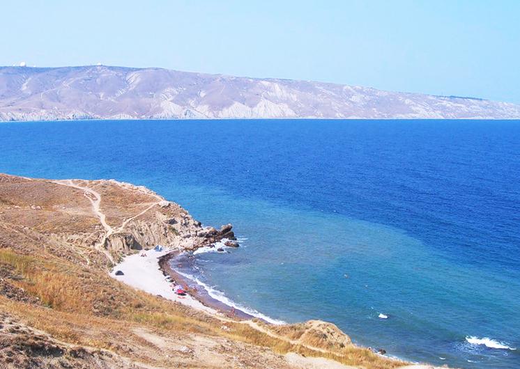 Пляжи Орджоникидзе. Краснячка