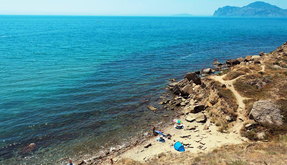 Пляжи Орджоникидзе, Крым