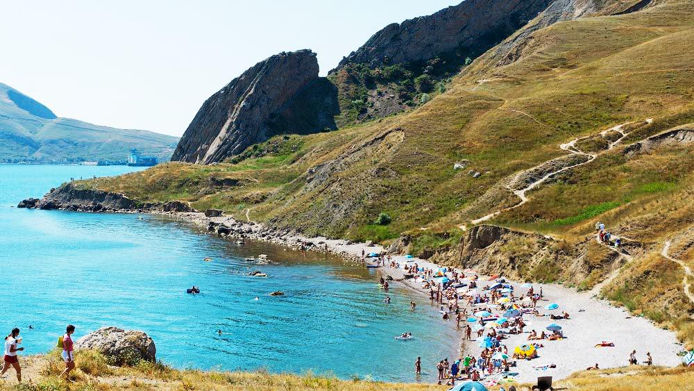 Пляжи Орджоникидзе, Крым - Гидроприбор