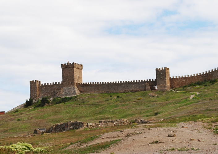 Отзыв поездка из Орджоникидзе в Судак, Генуэзская крепость самостоятельно экскурсии Орджо
